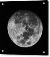 The Moon -  Acrylic Print
