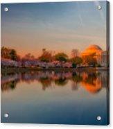 The Morning Glow Acrylic Print
