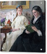 The Mother And Sister Of The Artist Acrylic Print