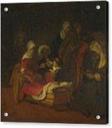 The Naming Of Saint John The Baptist Acrylic Print