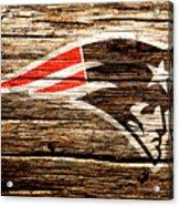 The New England Patriots 3a Acrylic Print