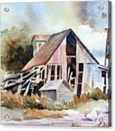 The Old Barn Acrylic Print by Bobbi Price
