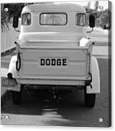 The Old Dodge  Acrylic Print