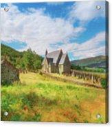 The Old Highland Church Acrylic Print