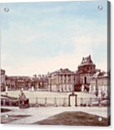The Palace Of Versailles. C. 1880 Acrylic Print