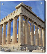 The Parthenon Acropolis Athens Greece Acrylic Print