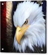 The Patriot Acrylic Print