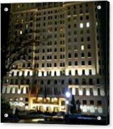 The Plaza Hotel Acrylic Print
