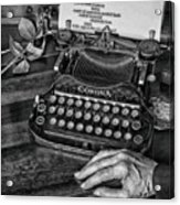 The Writer's Desk  Acrylic Print