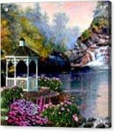 The Prayer Garden 3 Acrylic Print