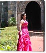 The Princess Acrylic Print