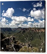 The Pulpit Rock Lookout Acrylic Print