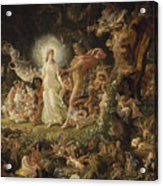The Quarrel Of Oberon And Titania Acrylic Print