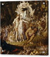 The Reconciliation Of Oberon And Titania Acrylic Print