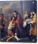 The Return Of The Prodigal Son Acrylic Print