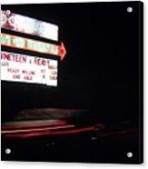 The Roosevelt Drive Inn Acrylic Print