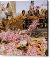 The Roses Of Heliogabalus Acrylic Print