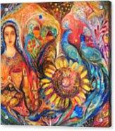 The Shabbat Queen Acrylic Print