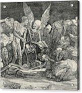 The Skeletons Acrylic Print