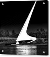 The Sundial Bridge Acrylic Print