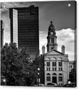 The Tarrant County Courthouse Acrylic Print