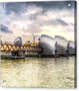 The Thames Barrier London Acrylic Print