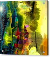 The Three Kings Acrylic Print by Miki De Goodaboom