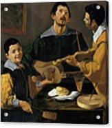 The Three Musicians Acrylic Print
