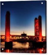 The Tower Bridge At Sunset Acrylic Print