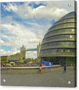 The Towers Of London Acrylic Print