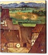 The Trefilerada On Peignitz  Acrylic Print