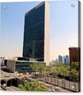 The United Nations Acrylic Print