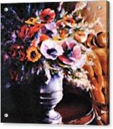 The Velvet Chair Acrylic Print