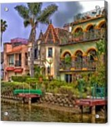 The Venice Canal Historic District Acrylic Print