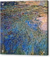 The Water Lily Pond 1914 1917 Acrylic Print