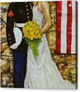 The Wedding Acrylic Print