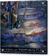 The Wheel Of Tempus Q. Fugit Acrylic Print