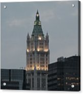 The Woolworth Building Acrylic Print