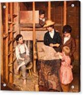 The Young Mechanic Acrylic Print