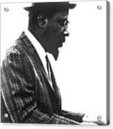 Thelonius Monk 1917-1982jazz Pianist Acrylic Print