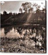 Thornton Reservoir, Leicestershire Acrylic Print