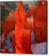 Thor's Hammer In Bryce Canyon Acrylic Print by Pierre Leclerc Photography