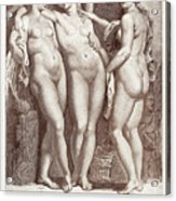 Three Graces Acrylic Print