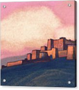 Tibetan Fortress Acrylic Print