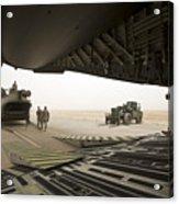Tikrit, Iraq - A Ch-47 Chinook Acrylic Print