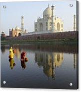 Timeless Taj Mahal Acrylic Print