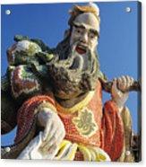 Tin Hua Temple Acrylic Print