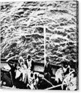 Titanic: Lifeboats, 1912 Acrylic Print