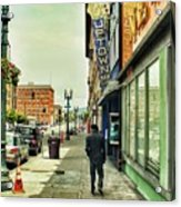 To The Uptown Acrylic Print