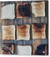 Toast Acrylic Print by Joana Kruse
